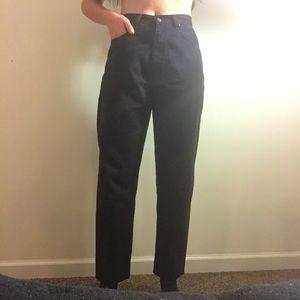 Eddie Bauer Jeans - ⭐️Vintage Eddie Bauer High Waisted Black Jeans